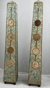 Pair of obelisks, France early 19th c