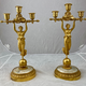 A pair of French candelabra made around 1810 - Image 1