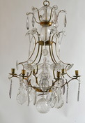 Swedish rococo-chandelier made ca 1760