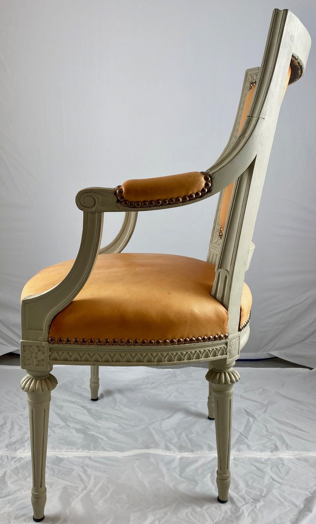 Gustavian armchair, late 18th c. - Image 2