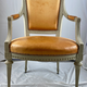 A Swedish Gustavian armchair, late 18th c - Image 1