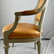 A Swedish Gustavian armchair, late 18th c - Image 4