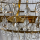 Important pair of Swedish Gustavian chandeliers made around year 1800. - Image 3