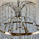 Important pair of Swedish Gustavian chandeliers made around year 1800. - Image 5