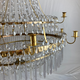 Important pair of Swedish Gustavian chandeliers made around year 1800. - Image 7