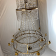 Important pair of Swedish Gustavian chandeliers made around year 1800. - Image 9