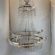 Important pair of Swedish Gustavian chandeliers made around year 1800. - Image 10
