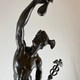 Grand tour sculpture depicting Mercurius flying, 19th c - Image 6