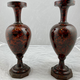 Pair of hardstone vases, probably Russian. early 19th c - Image 1