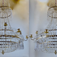 Important pair of Swedish Gustavian chandeliers made around year 1800. - Image 2