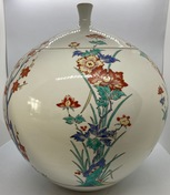 Japanese vase with cover, early 20th c