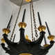 A French empire chandelier, ca 1830 - Image 1