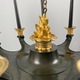 A French empire chandelier, ca 1830 - Image 3