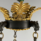 A French empire chandelier, ca 1830 - Image 5