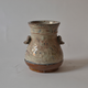 Japanese ceramics whiteglazed jar - Image 1