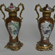 Pair of Chinese Ormolu Mounted Porcelain vases. 18th century.  - Image 9