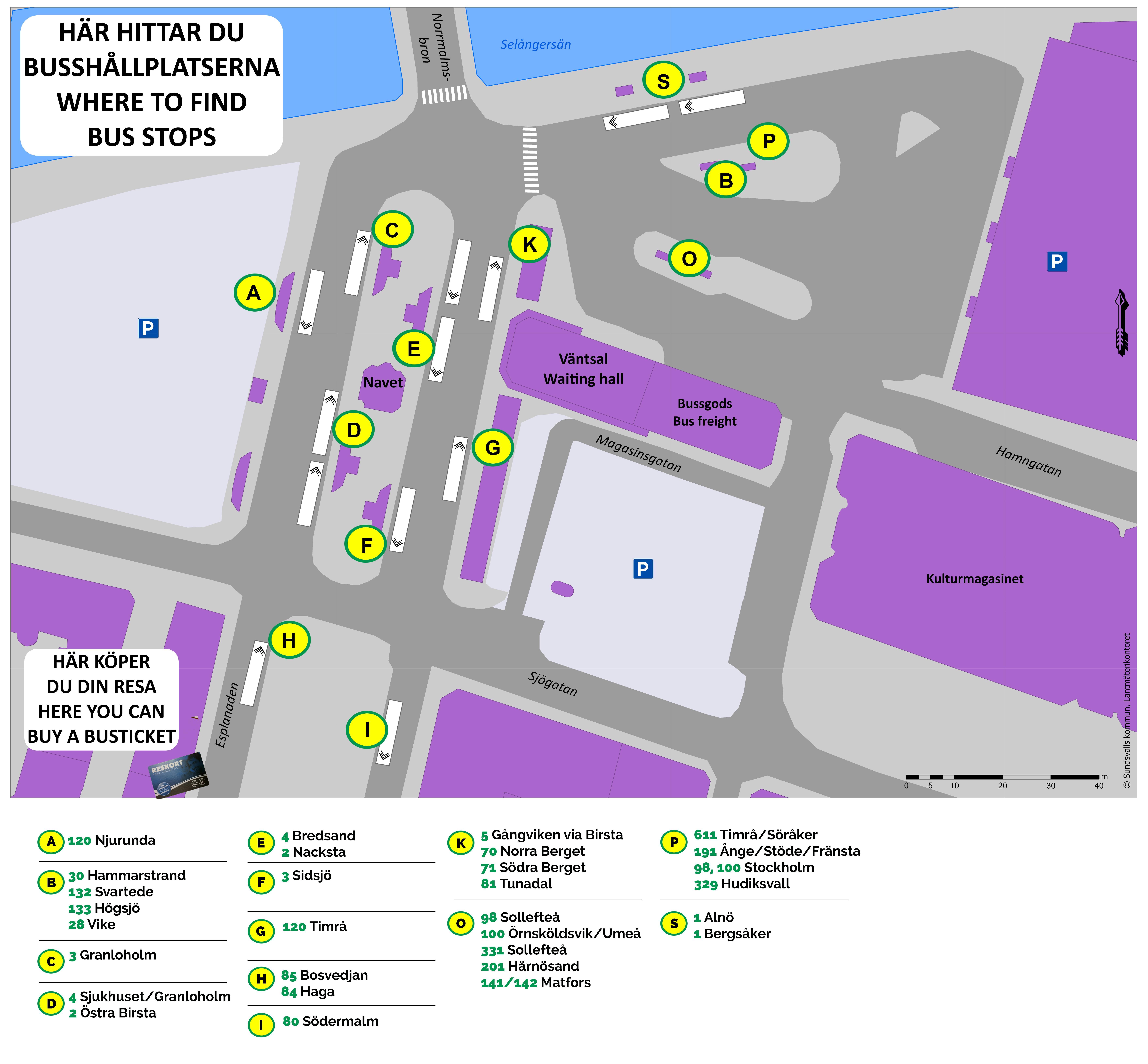 Karta Sundsvall Centralstation.Praktiska Fragor Din Tur