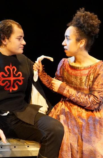 Frå Shakespareprosjekt under studietida.