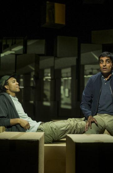 Dramatiseringa av Zeshan Shakars roman Tante Ulrikkes vei (som også ligg like ved Rommen Scene) med premiere i august same året, var den første produksjonen laga spesielt for Rommen Scene.