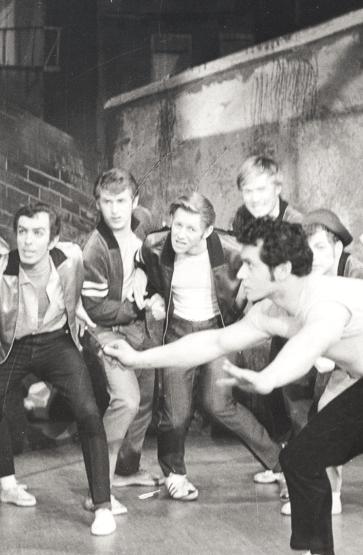 Scene frå West Side Story, 1965.