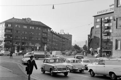 Carl Berners Plass Foto: Randulf Kure/Oslo Museum