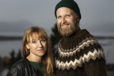 Heidi Gjermundsen Broch og Jon Bleiklie Devik har stått på scenen i lag mange gonger. Foto: Eirik Malmo.