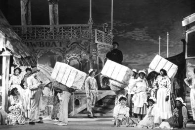Teaterbåten, Show Boat, i 1950.