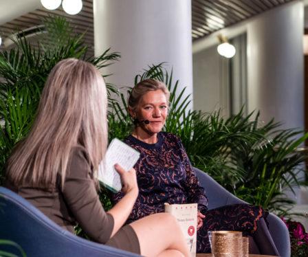 Maja Lunde i samtale med Annette Orre går direkte ut til publikum i heile landet.