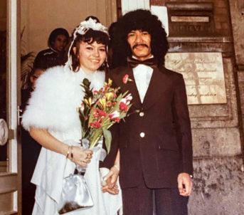 Mamma og pappa Braza. Foto: Privat