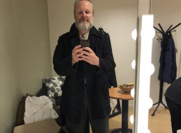 Bak scenen i Ålesund.