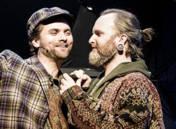 Musikalen Tenk om - her saman med Morten Svartveit.