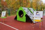 В детском саду №17 открылась современная спортивная площадка
