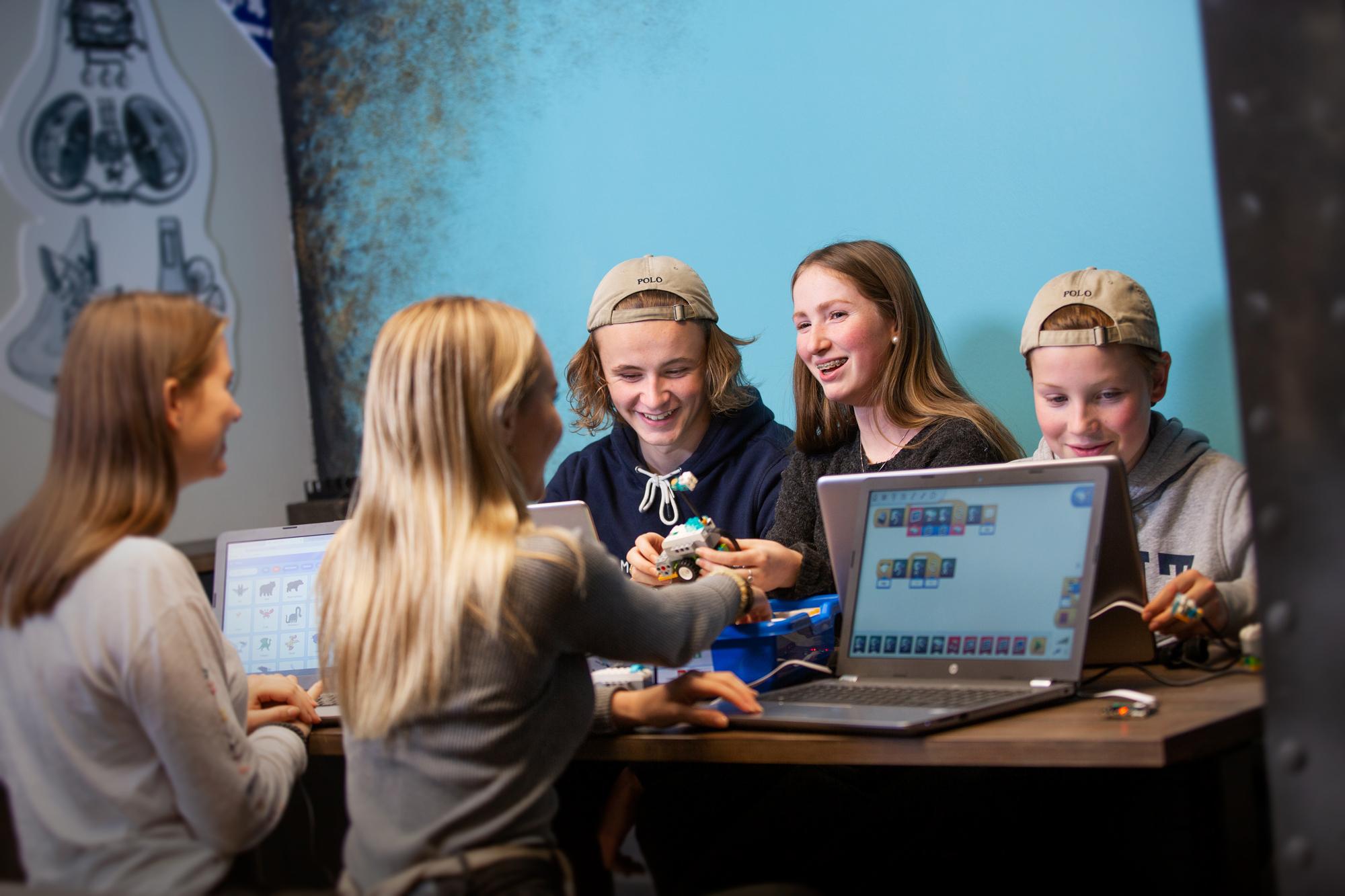 Kodekraft lar elevene kode sitt eget energispill