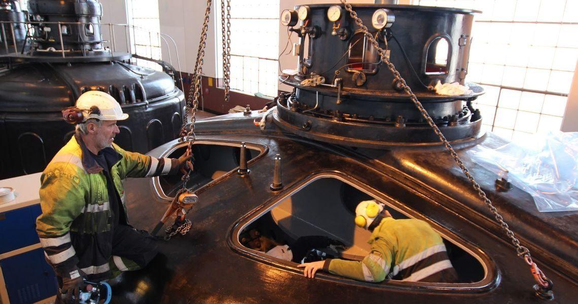 Solbergfoss 1 oppgradering
