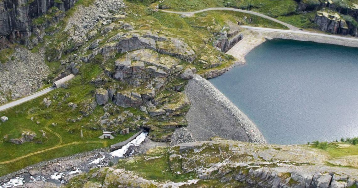 Rehabilitering av dam Vetlebotn og sekundærdam Nyheller
