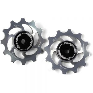 Hope 12 Tooth Jockey Wheels - Silver, Silver