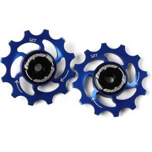 Hope 12 Tooth Jockey Wheels - Blue, Blue