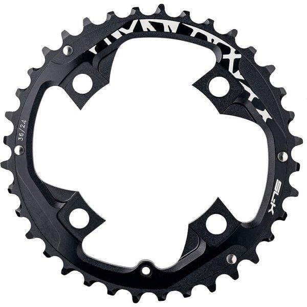 FSA Powerbox Chainring - Black - 96mm, Black