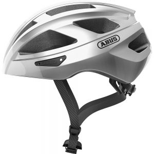 Abus Macator Road Helmet 2020 - M - Silver, Silver