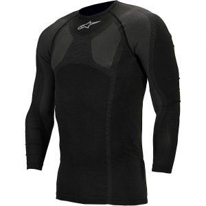 Alpinestars MTB Tech Top Long Sleeve Underwear - L/XL/XXL - Black, Black