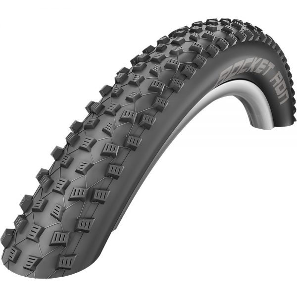 "Schwalbe Rocket Ron Performance Folding MTB Tyre - Black - 26"", Black"