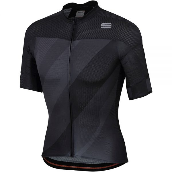 Sportful Bodyfit Pro 2.0 X Jersey - XXL - Black-Anthracite, Black-Anthracite