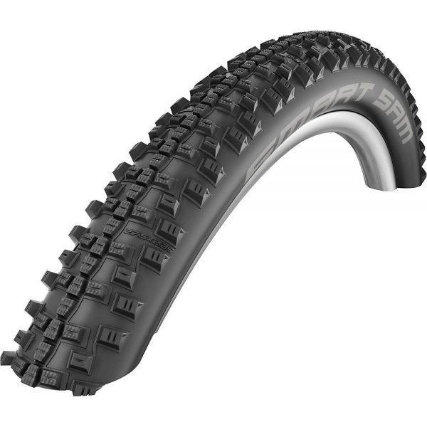 Schwalbe Smart Sam Performance DD MTB Tyre - Folding Bead - Black, Black