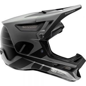 100% Aircraft Composite Helmet - L - Black, Black