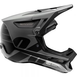 100% Aircraft Composite Helmet - M - Black, Black