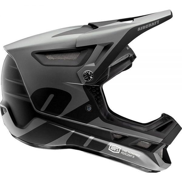 100% Aircraft Composite Helmet - S - Black, Black
