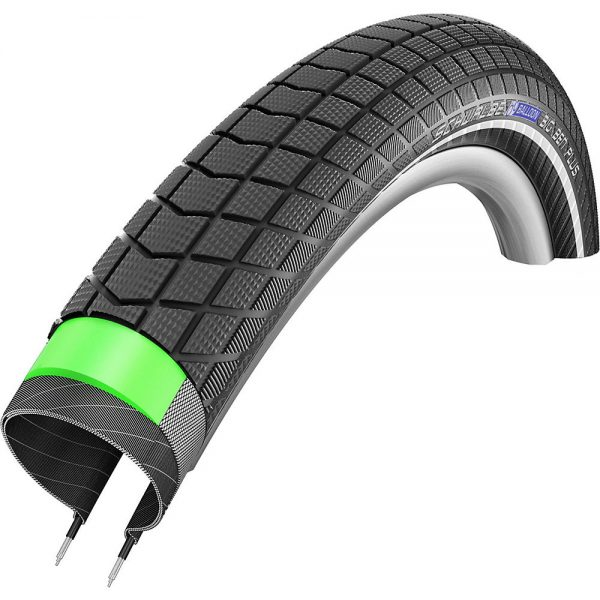 Schwalbe Big Ben Plus GreenGuard MTB Tyre - Wire Bead - Black, Black