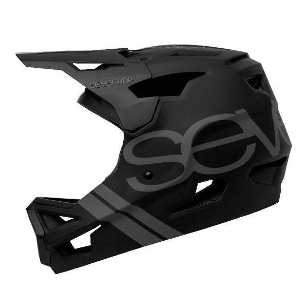 7 iDP Project 23 ABS Full Face Helmet 2020 - XL - Matte Black-Gloss Black, Matte Black-Gloss Black