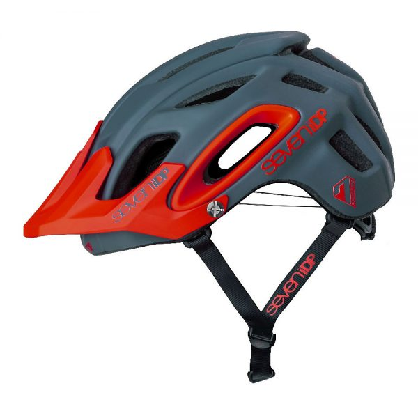 7 iDP M2 BOA Helmet 2019 - M/L - Matte Graphite-Thruster Red, Matte Graphite-Thruster Red