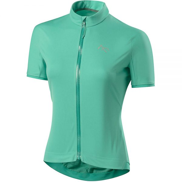 7Mesh Women's Synergy Short Sleeve Jersey - L - Emerald, Emerald